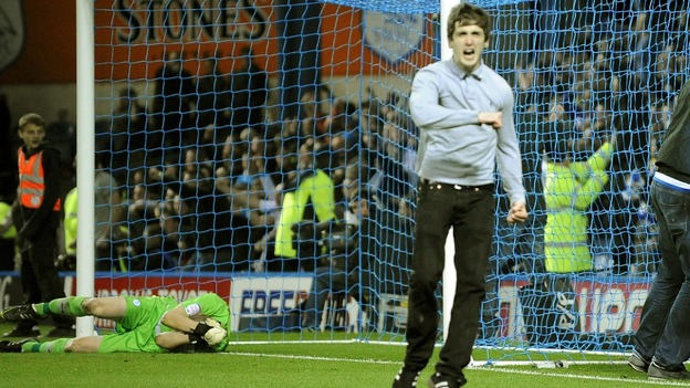 The assault followed Leeds' equalising goal in a 1-1 draw at Hillsborough