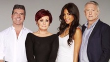 (Left to right) Simon Cowell will be joined by Sharon Osborne, Nicole Scherzinger, and Louis Walsh.