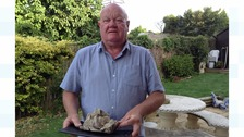 Man finds 'whale vomit' possibly worth thousands