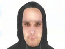 E-fit of a man police are looking for following an assault last month