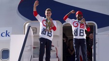 London's Team GB heroes arrive home after making history in Rio