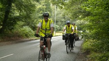 Prison chaplain cycles Norfolk for ex-offender charity