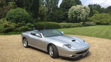 The classic silver 550 Barchetta