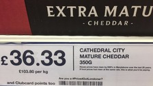 Food labels changed to highlight soaring London house prices