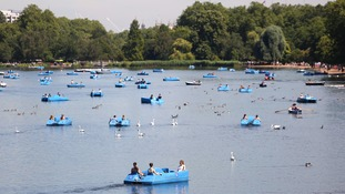 Health warning for London as temperatures soar