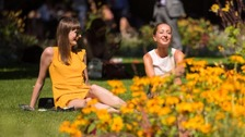 Britons urged to 'take extra care' during heatwave