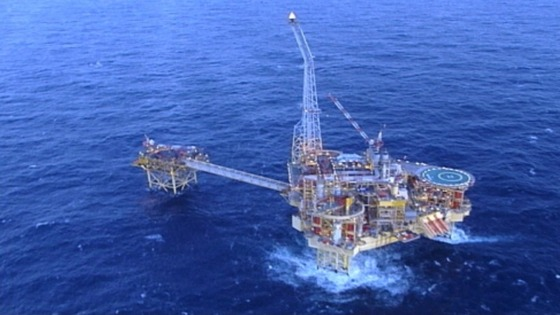 Elgin PUQ platform in the North Sea