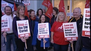 Westcountry protestors march against Government cuts