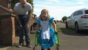 Five-year-old from Cambridgeshire to climb Mount Snowdon months after taking her first steps