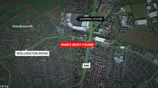 Man's body found in Handsworth