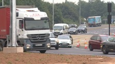 Changes have been made to a new £2.9 million roundabout in Somerset that residents say is a menace.