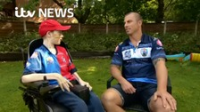 Meet the Rugby League hard man with a heart of gold