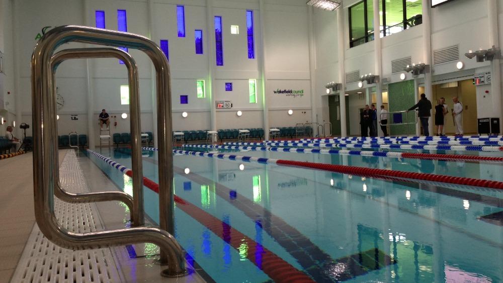Picture Wakefield New 10m Swimming Pool Calendar Itv News
