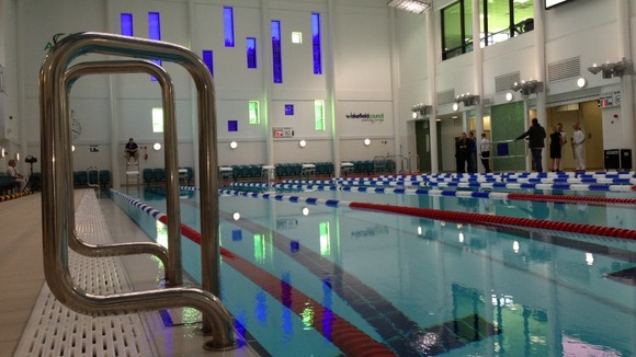Picture wakefield new 10m swimming pool calendar itv - Swimming pools in south yorkshire ...