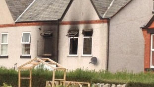 House fire in Prestatyn