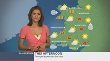 Wales weather: A dry and warm day to come with lots of sunshine