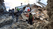 Italy earthquake: Race to find survivors as death toll rises