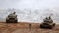 Turkey continues bid to wipe out IS from Syrian border