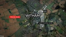 The crash happened yesterday afternoon in Witham.