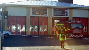 The Fire Station in Ely where a woman was killed in a multiple hit and run incident which also saw seven children and four adults injured.