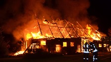 Barn fire (file photo)