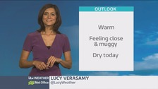 Wales weather: fine and dry, with warm sunny spells
