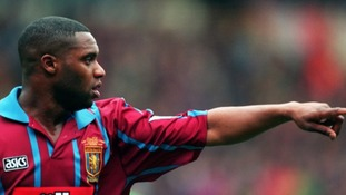 Dalian Atkinson played for Aston Villa from 1991-1995