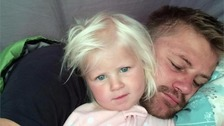 Girl, 2, dies in hospital after father killed in sea tragedy