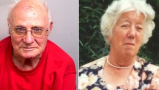 Ronald King, 87, killed his wife Rita, while visiting her at her care home