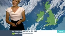 Helen has the latest weather