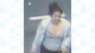 Police believe this CCTV image is the last known sighting of Veronica
