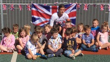 Carlisle nursery children prove Farrell's biggest supporters