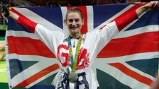 Bryony Page won silver at the Rio Olympics