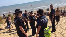 Three swimmers dead after being pulled from the sea at Camber Sands