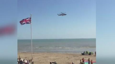 Camber_Sands_rescue