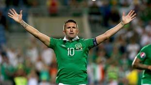 Ireland captain Robbie Keane announces international retirement