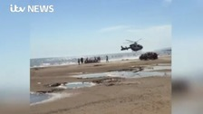 Three people pulled from sea at Camber Sands have died