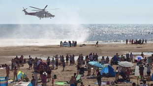 Two more bodies found on beach where three died earlier today