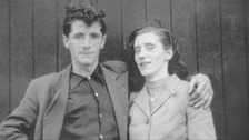 The widow of Joseph Murphy has died on the anniversary of his death.