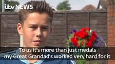 Great grandson launches campaign to find stolen family medals