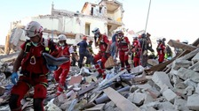 Italy earthquake: Number of dead rises to 159