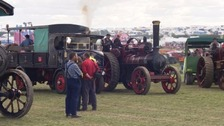 The Great Dorset Steam Fair gets underway