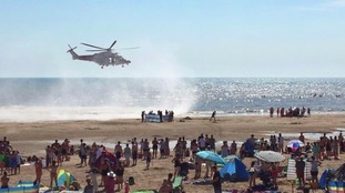 Deaths in sea off Camber Sands beach in Sussex