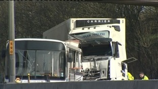 Lorry crash, M5