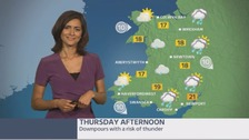 Wales weather: a cloudy start with heavy showers later