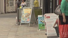 A-boards set to be banned from York city centre streets