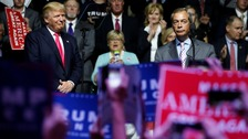 Farage tells ITV News: Trump can be the next US president
