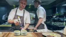 Simon Rogan's L'Enclume restaurant in Cumbria