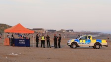 Five people have died and a sixth is believed missing off the coast at Camber Sands