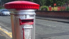 Olympic makeover fail for Manchester postbox